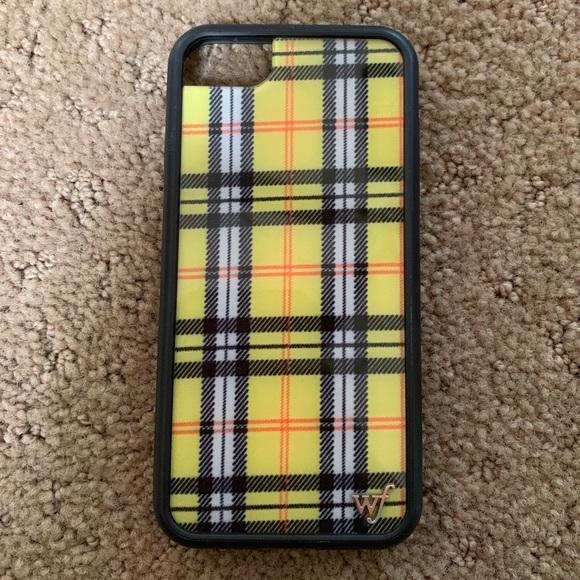 watch 21b2b 44826 Plaid Wildflower iPhone 6/7/8 case